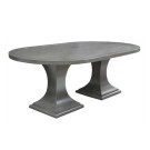 914884 Double Pedestal Oval Dining Table