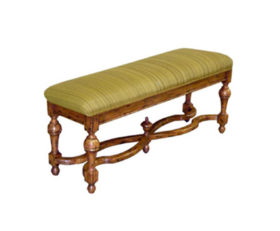21848/U-B Barcelona Upholstered Bench