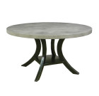 90540 Veranda Dining Table + Concrete Finish Top