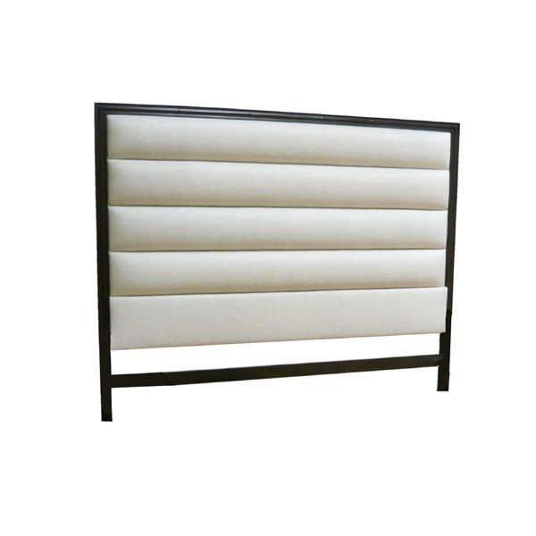 182084-E Horizontal Panel Tufting Headboard