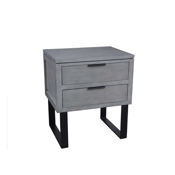 102027 Iron Nightstand