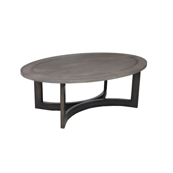 143601 Oval Cocktail Table
