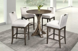 Hamilton Bistro Table & Swivel Barstool